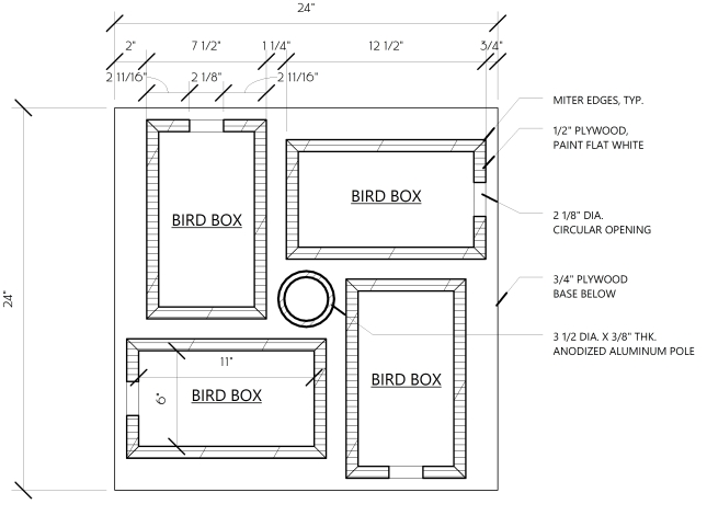 plans to build a martin birdhouse