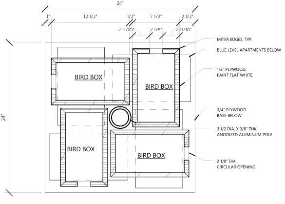 purple martin birdhouse plans