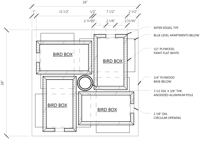 Extra Large Bird Feeder Plans