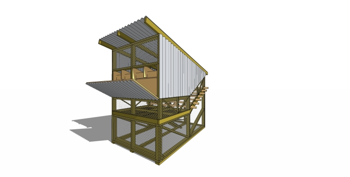 Chicken Coop_perspective